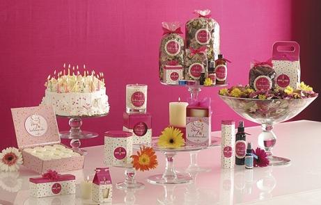 Birthday Cake Scented Candles, Botanicals etc.