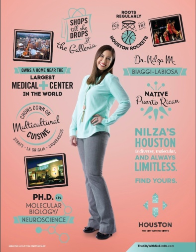 Typography for Houston Ad